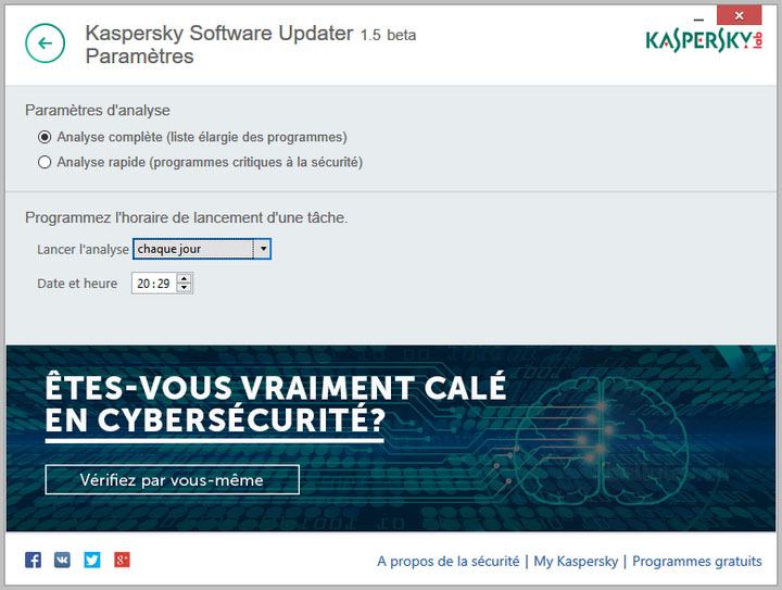 Kaspersky Software Updater