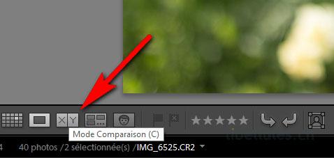 Lightroom - Comment comparer deux photos côte à côte