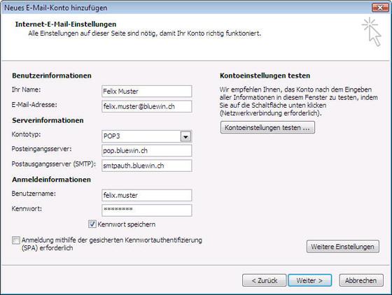 Wie erstelle ich mit Windows bei Outlook 2007 ein neues E ...