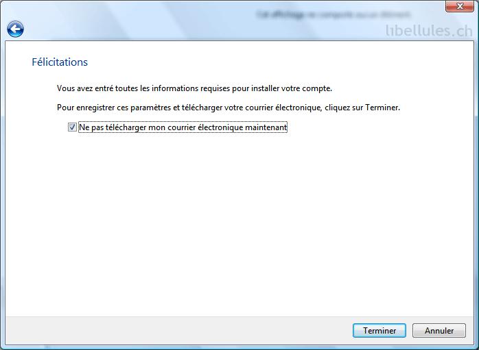 port sortant gmail