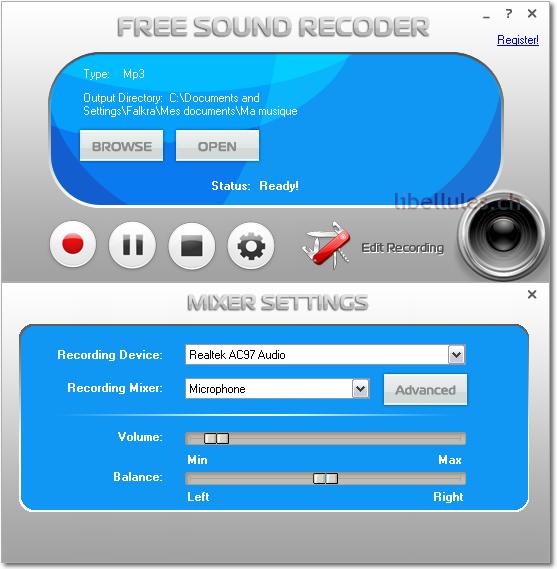 Free Sound Recoder