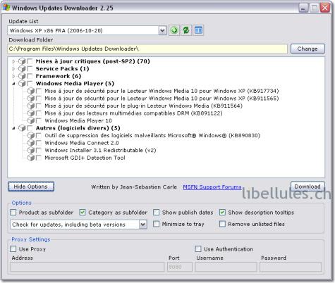 Windows Updates Downloader (wud)