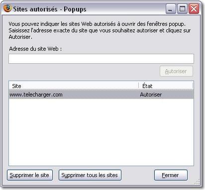 Bloquer Les Fenêtres Popup Avec Firefox 2 Portail Francophone D