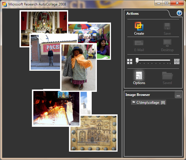 Microsoft Research AutoCollage