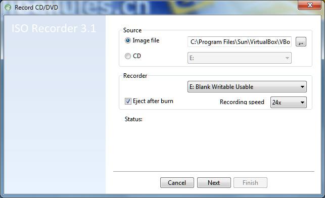 ISO Recorder