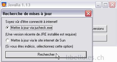 javara jucheck.exe