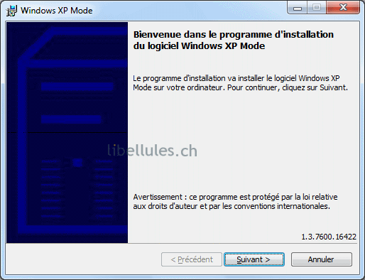 installer mode xp