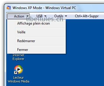 éteindre mode XP