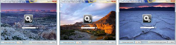 Tweaks.com Logon Changer for Windows 7