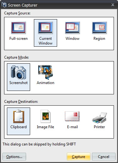 Screen Capturer - capture facile d'écran image ou vidéo