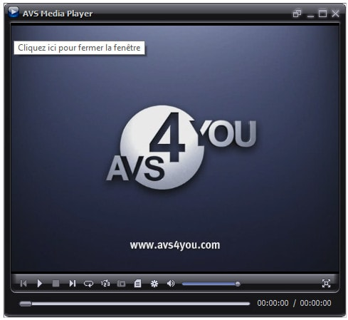 AVS Media Player - lecteur multimédia images/audio/vidéo
