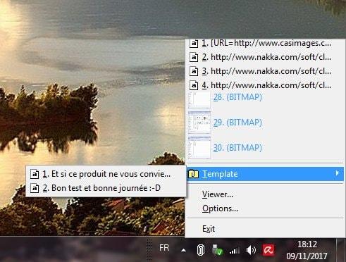 CLCL presse-papiers étendu pour Windows (Freeware)
