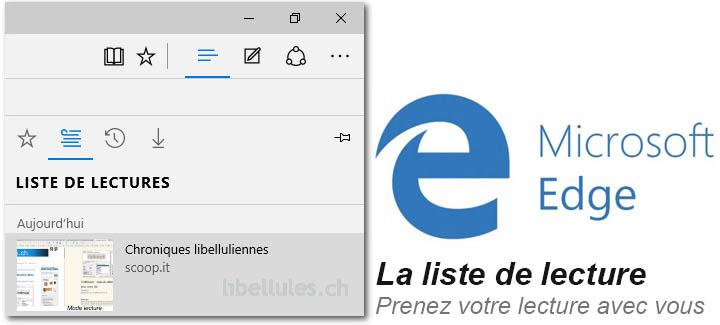 Microsoft Edge - Lire sans être distrait