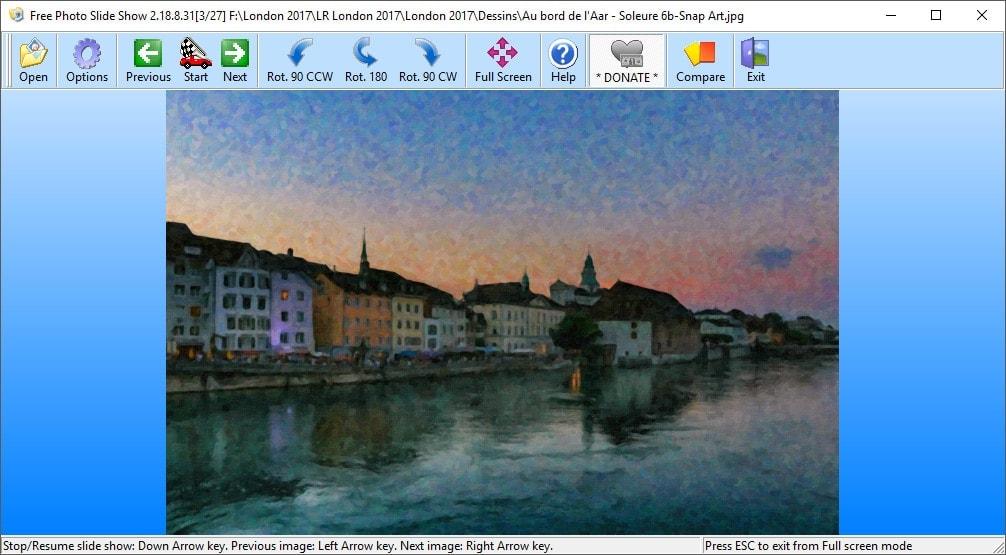 Free Photo Slide Show - visionneuse d'images et diaporama