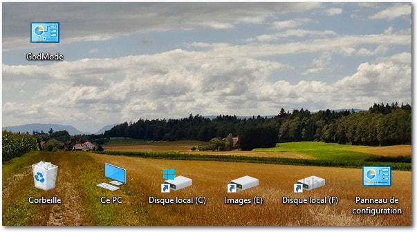 """Comme pour Windows 7 et Windows 8, il existe un """"GodMode"""" sous Windows 10"""