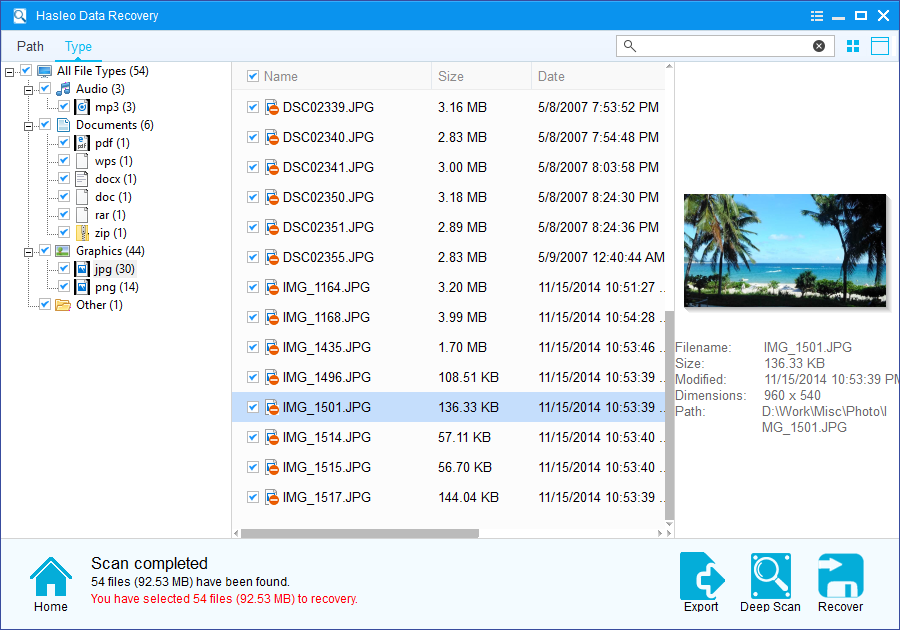 Hasleo Data Recovery Free