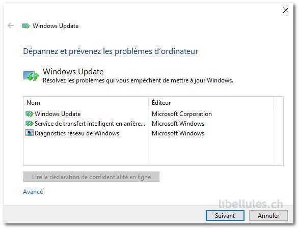 L'utilitaire qui vous permet de rétablir les mises à jour de Windows 10