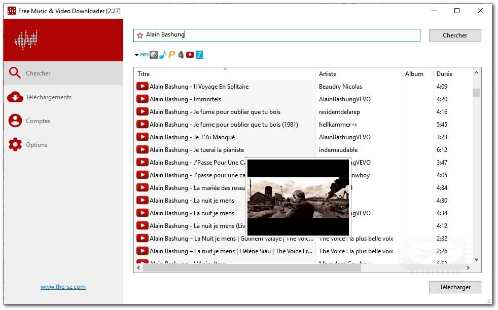 Lacey - Téléchargeur portable de musiques et de vidéos