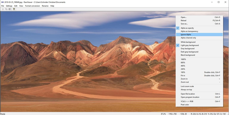 RawViewer - Visionneuse d'images RAW et autres formats