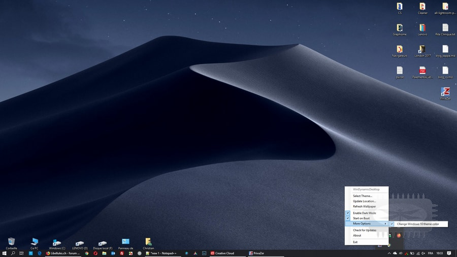 WinDynamicDesktop