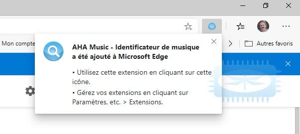 AHA Music - trouvez et identifiez toute musique jouée dans votre navigateur