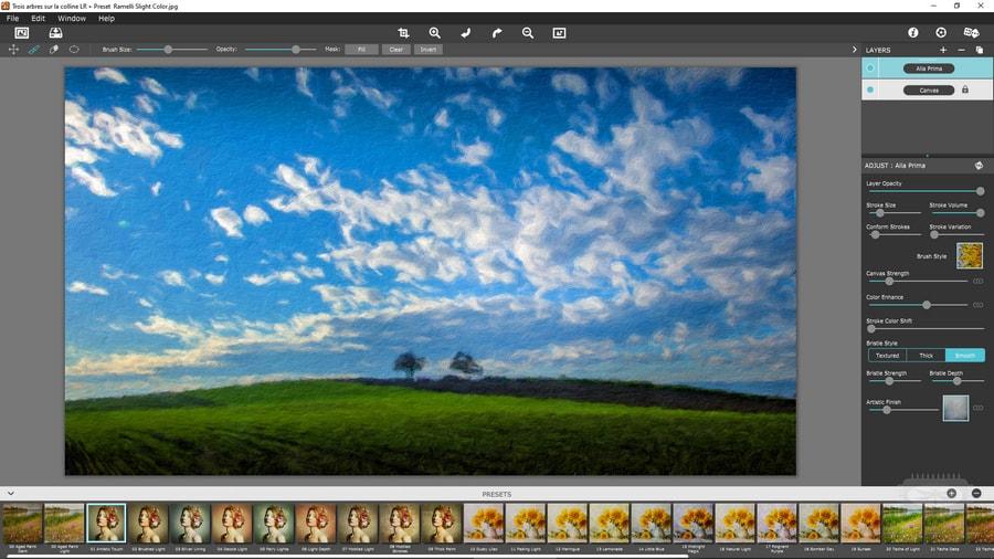 Transformez vos photographies en de belles œuvres d'art avec Impresso Pro