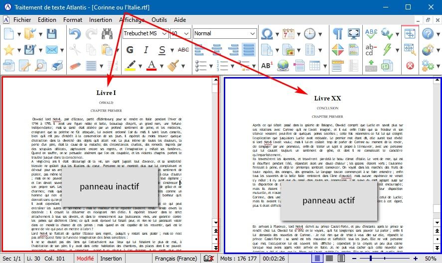 Traitement de texte Atlantis - Sortie de la version 3.3