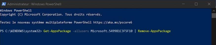 Windows 10 - Utiliser / Désactiver / Désinstaller Cortana