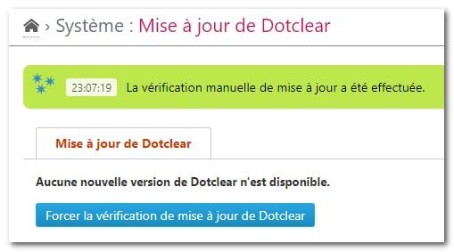 Mise à jour de Dotclear vers la version 2.1.7.2