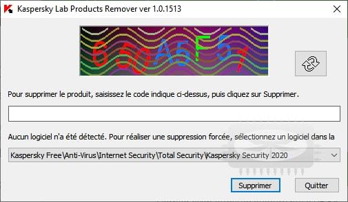 Supprimer Kaspersky Antivirus