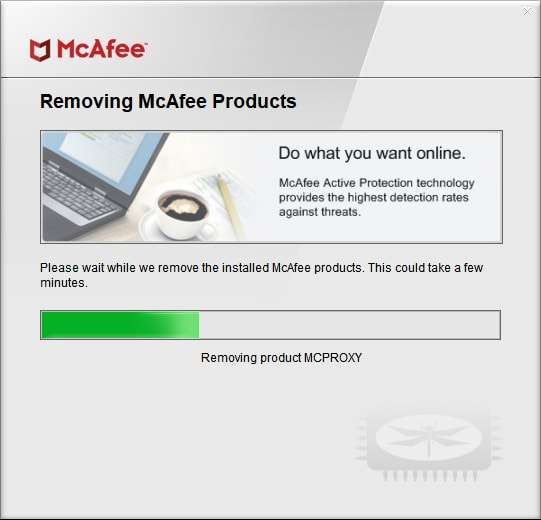 Supprimer McAfee Antivirus