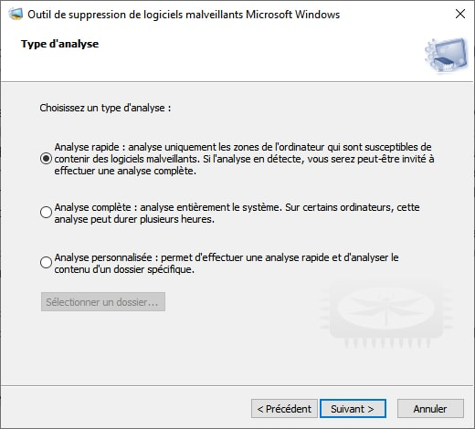 Nouvelle version de l'outil de suppression de logiciels malveillants Microsoft Windows MSRT