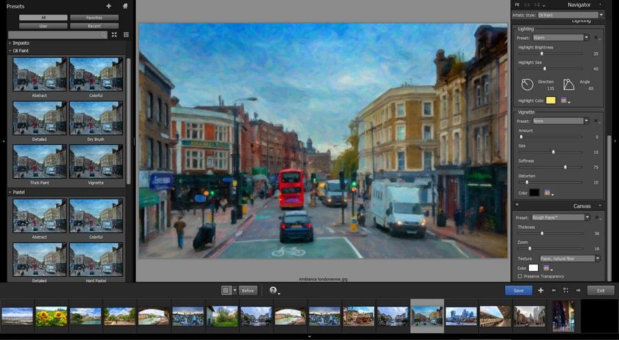 Transformez vos photographies en de belles œuvres d'art avec Snap Art