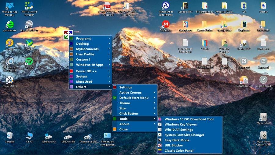 Start Everywhere - un logiciel qui a l'ambition de remplacer votre menu Démarrer