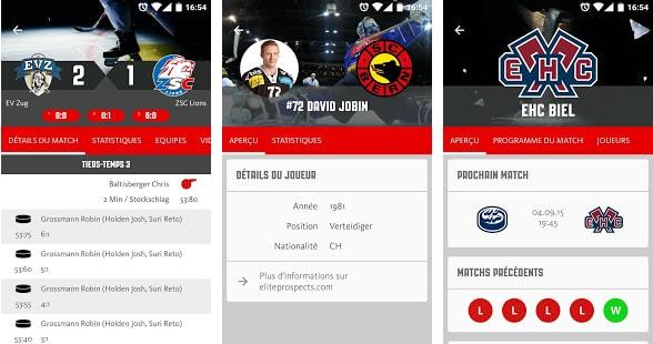 Swiss Ice Hockey - toutes les informations sur le hockey sur glace suisse