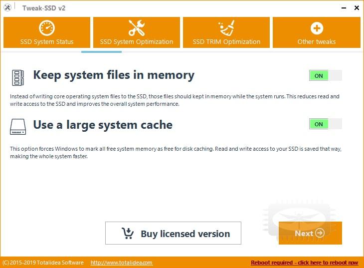 Tweak-SSD permet d'optimiser votre disque SSD