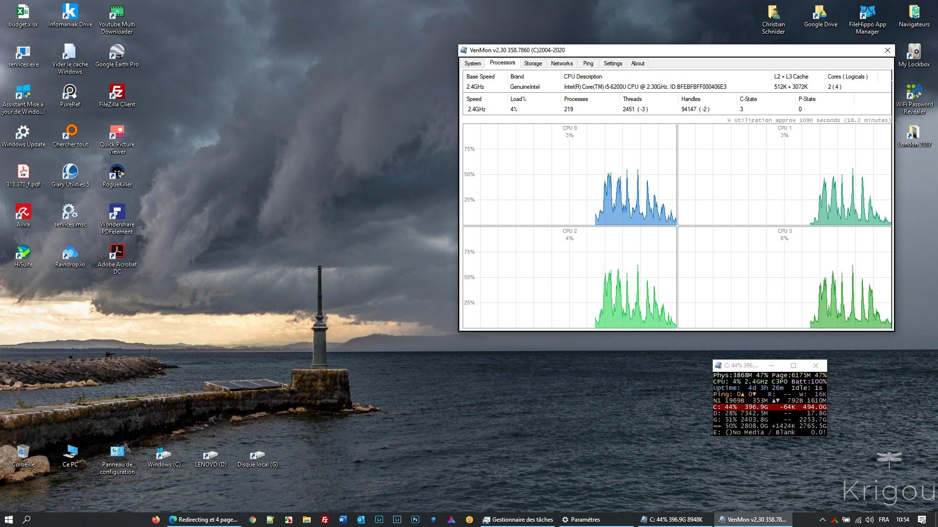 Venmon - outil de surveillance système du PC