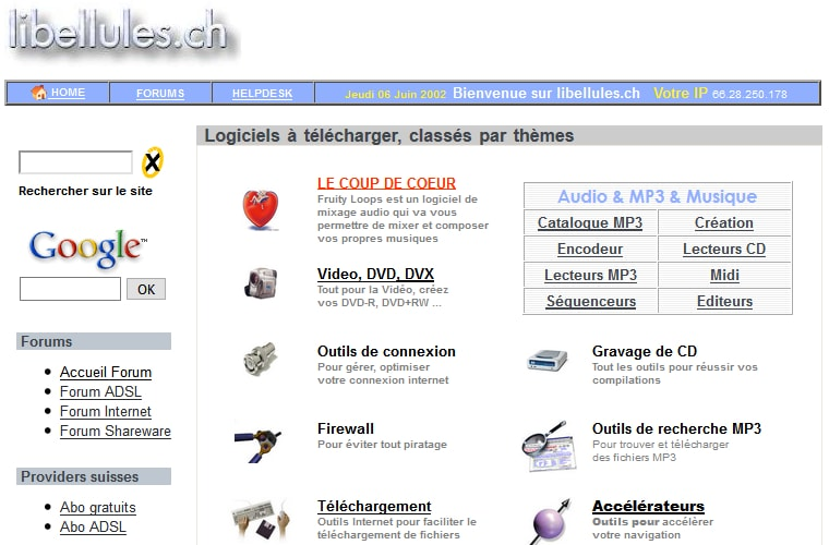 La machine web à remonter le temps
