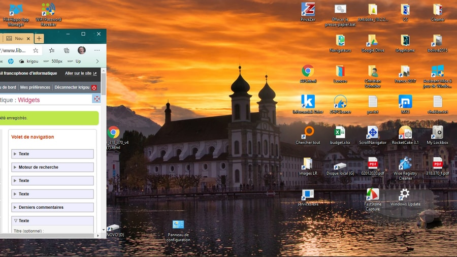 Windows 10 - gérer une fenêtre hors de l'écran