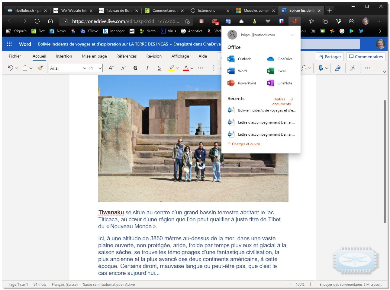 Accédez directement à vos fichiers Office, qu'ils soient stockés en ligne ou sur votre ordinateur, depuis votre navigateur