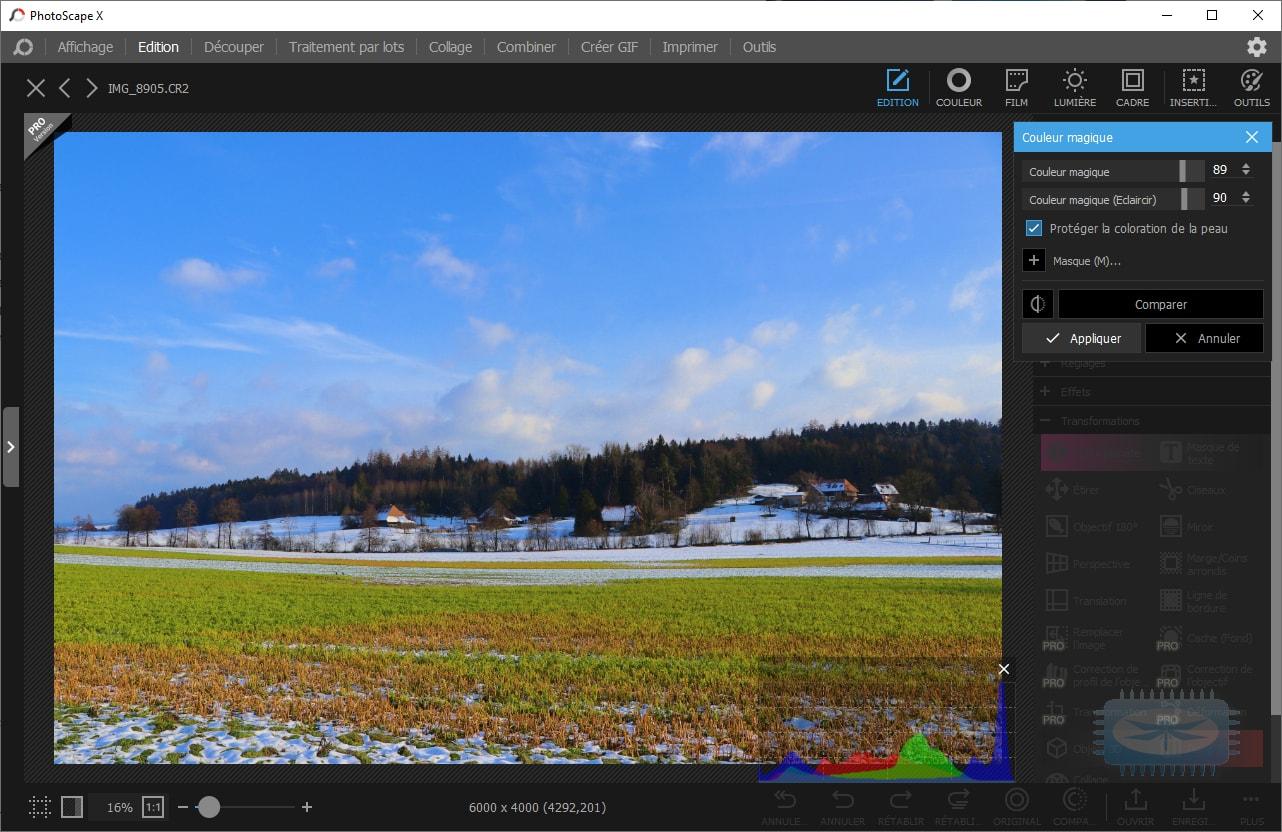 'Augmentez la résolution de tout graphique ou photo, instantanément