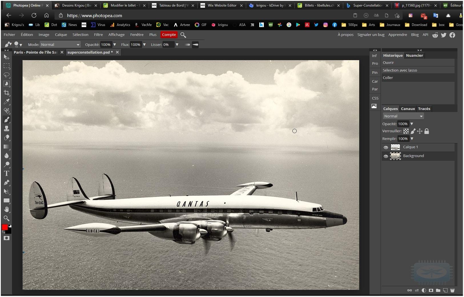 Photopea - un des meilleurs logiciels gratuits de retouche photo en ligne