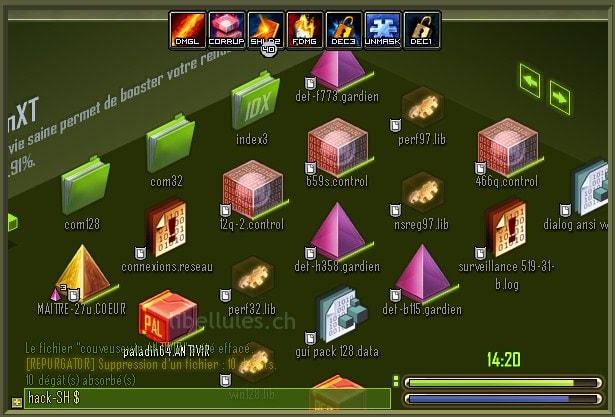 Intrusion, un jeu de Muxxu
