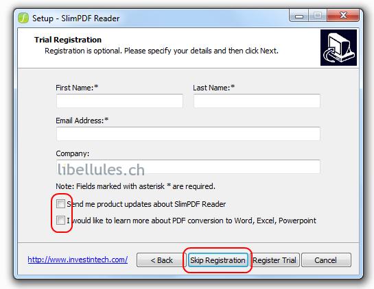 SlimPDF Reader