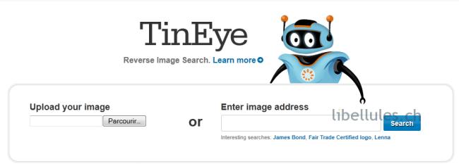 moteur recherche upload image