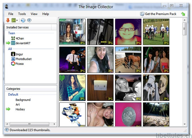 The Image Collector