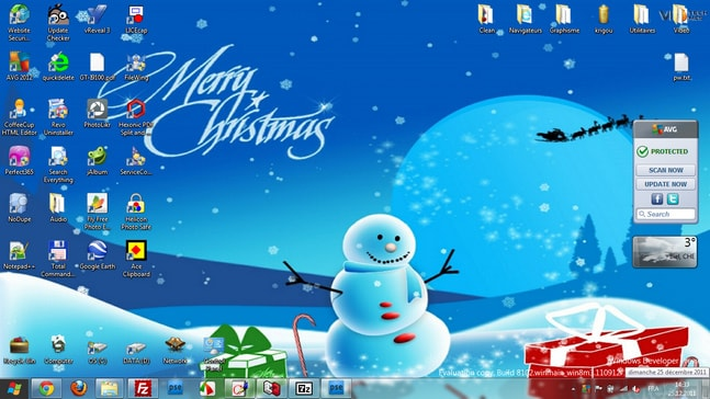 Christmas Windows 7 Theme