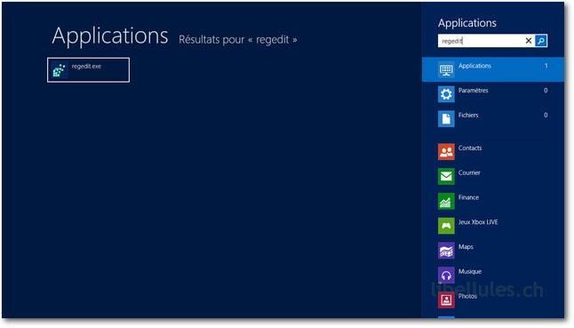 Créer une sauvegarde de la base de registre sous Windows 8