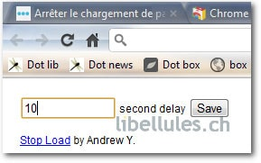 Stop Load pour Chrome
