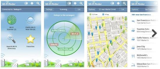 Wi-Fi Finder - parfait pour localiser un hotspot wifi